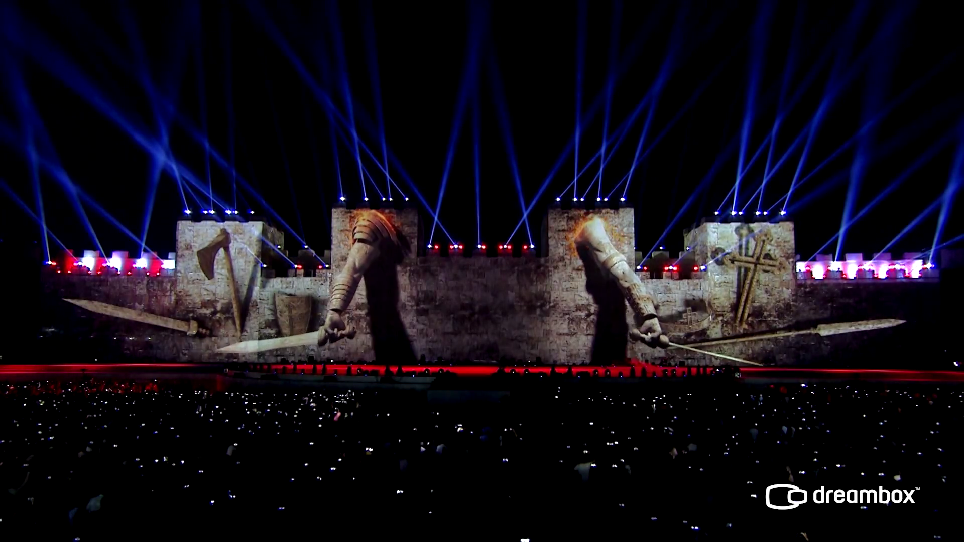 Conquest of İstanbul 3d Mapping Show 2016