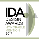 2017 The International Design Awards  Animation Category, Honorable Mention
